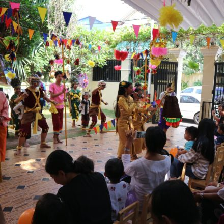 Khmer New Year Celebration at Toul Kork campus
