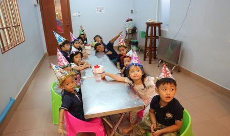 Happy Birthday to Students