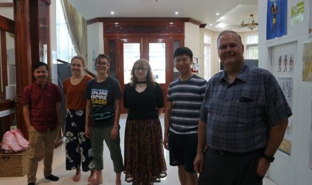 Visitors from Purdue University in US